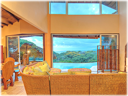 villa, estates, dominical, osa, south pacific, close to the beach, beach properties, ocean view, jungle, mountains, walk around